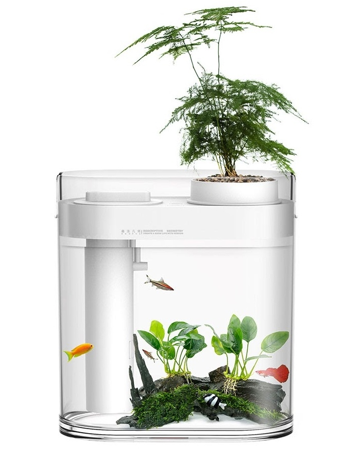 Аква-ферма Xiaomi Descriptive Geometry Amphibious Fish Tank (HF-JHYGQC 001)